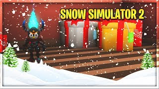 FIRST LOOK! (Snow Shoveling Simulator 2) | The North Pole