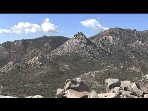 The Thimble and San Isidros Scenery - Anza Borrego Desert State Park