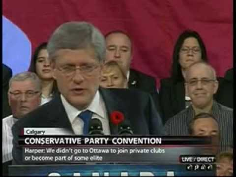 Conservative Party Convention Calgary 2013 Prime Minister Harper Full Speech