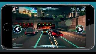 Futuristic Mobile Racing Game - App Spotlight #91