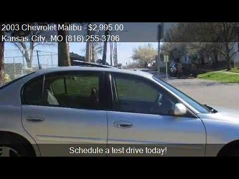 2003 Chevrolet Malibu LS 4dr Sedan for sale in Kansas City,