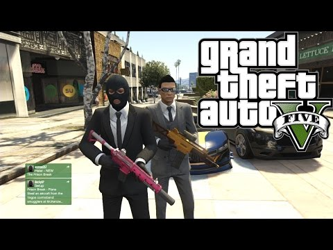 GTA 5 ONLINE HEIST INDONESIA - Mission The Fleeca Job
