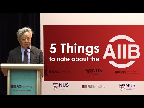 [Highlights] 5 Things to note about the AIIB