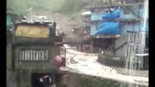 Km. 3 La Trinidad, Benguet landslide and clearing operation
