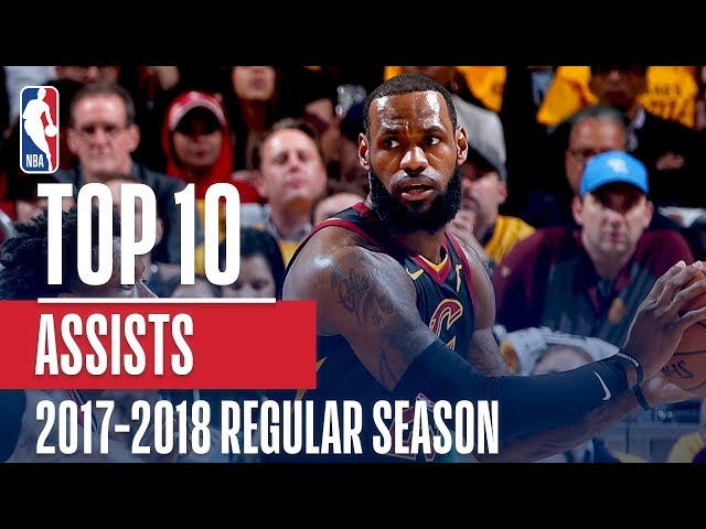 Top 10 Assists of the 2018 NBA Regular Season
