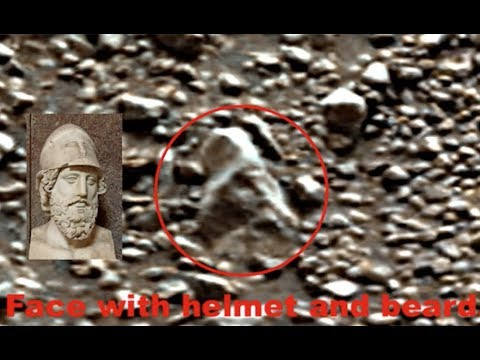 Ancient Roman Face Found On Mars By NASA Rover,  Photos, UFO Sighting News.