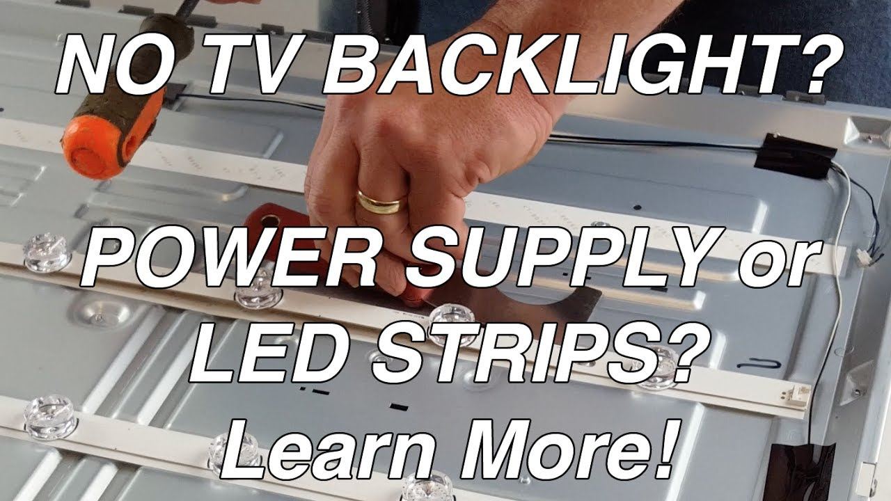 Lg Tv 55lf 55lb Nc55 No Backlight Led Voltage Test Troubleshoot Tv Leds Power Supply Youtube