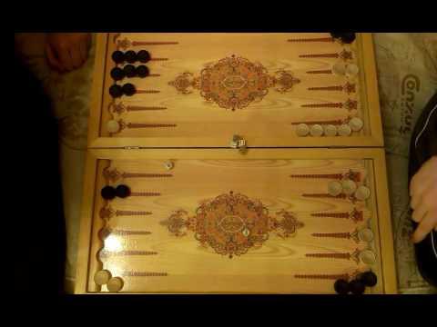 Боевая и Очень Удачная игра.Короткие нарды с Pro (backgammon 2016)