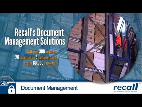 Document Storage and Document Management Services