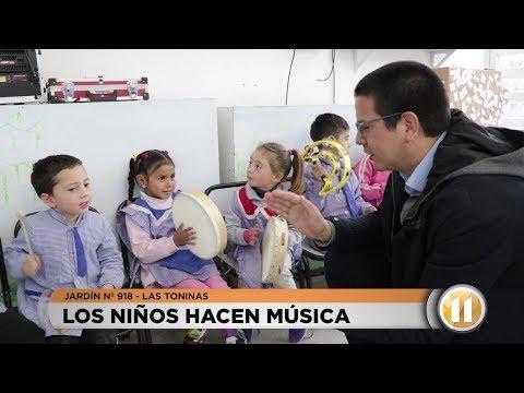 El Jardín 918 de Las Toninas recibió instrumentos musicales