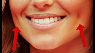 видео Как убрать морщины на щеках при улыбке