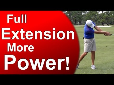 """""""Air Under the Armpits"""" – Full Golf Swing Extension"""