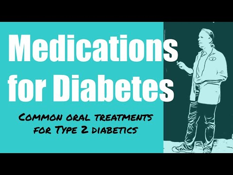 Diabetes Medications Common Oral Treatments For Type 2 Diabetics