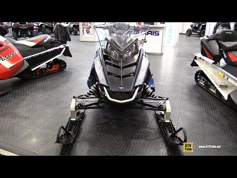 2015 Polaris 550 Indy LXT 144 Sled - Walkaround - 2014 Toronto ATV Show