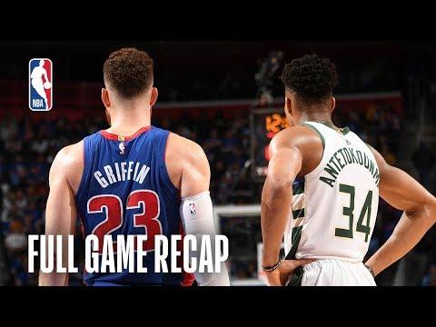 BUCKS vs PISTONS | Blake Griffin Returns for Detroit | Game 3