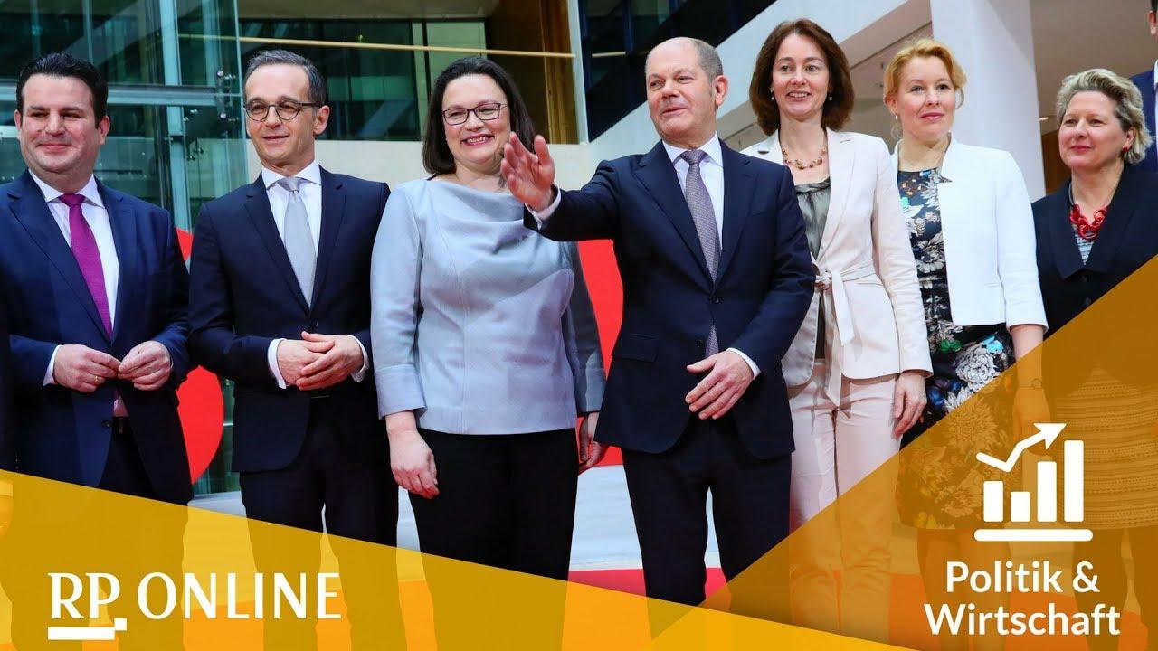 diese minister schickt die spd ins kabinett der groko 2018 - Was Ist Ein Kabinett