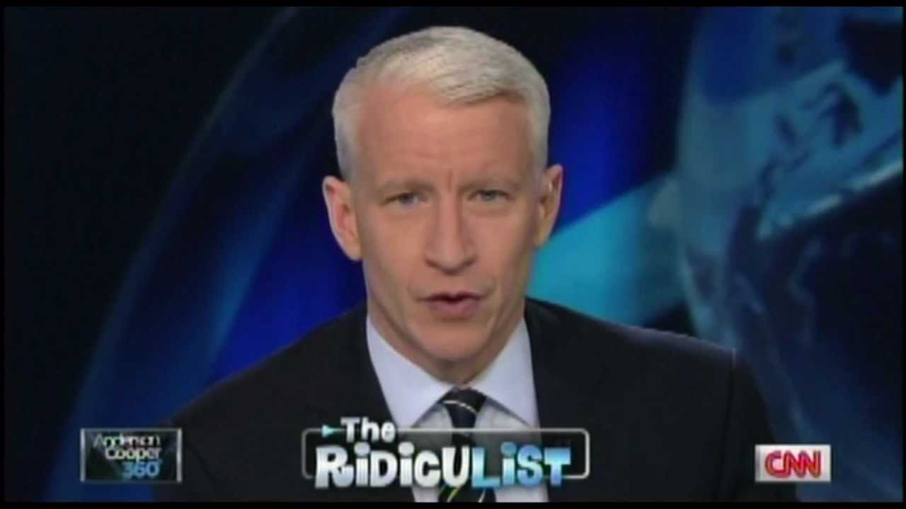 Anderson Cooper Breaks Into Uncontrollable Fit of Laughter ...