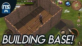 Building a base in Stormfall: Saga Of Survival