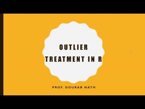 Outlier Treatment in R - Part 1 - Discarding Outliers