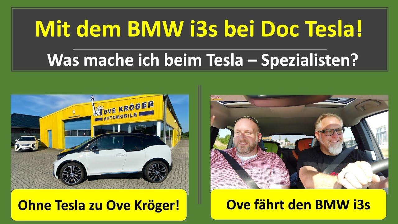 Besuch bei Doc Tesla - Ove Kröger - T&T Emobility / Ove fährt zum ersten Mal BMWS i3