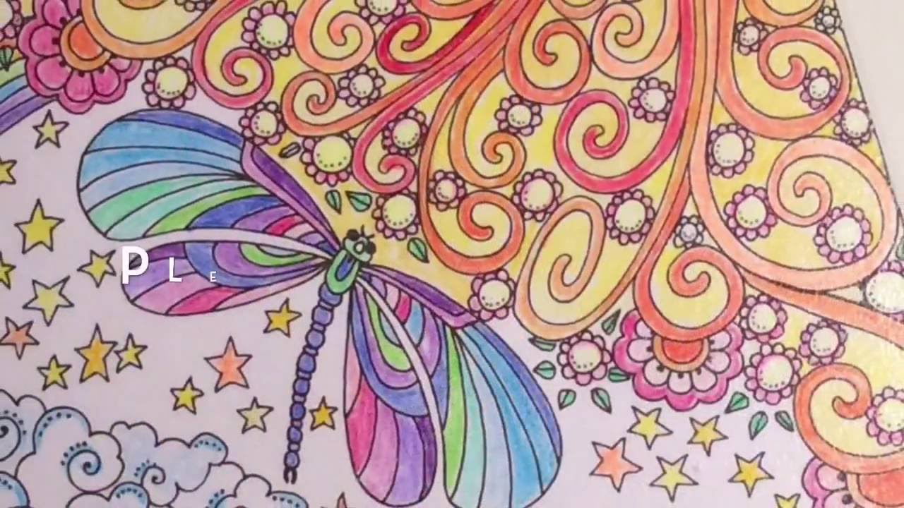 Adult coloring book crafts craft ideas for finished pages decorating with zen coloring books youtube