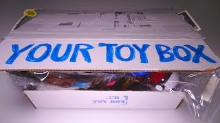 Opening: Your Toy Box SUBSCRIPTION BOX! #1 July 2015 thumbnail