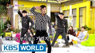 Video TVXQ Yunho shows off his good-as-ever dance moves! [Happy Together / 2017.10.12] download MP3, 3GP, MP4, WEBM, AVI, FLV Mei 2018