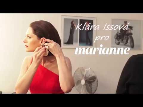 Klára Issová pro Marianne
