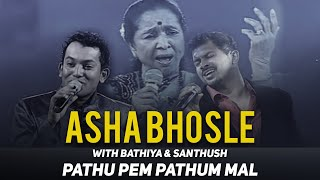 Asha Bhosle Live with Bathiya & Santhush (Pathu Pem Pathum)