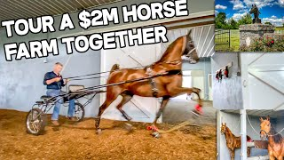 $2m Horse Barn - Horse Property For Sale Kentucky, 5 Living Quarters