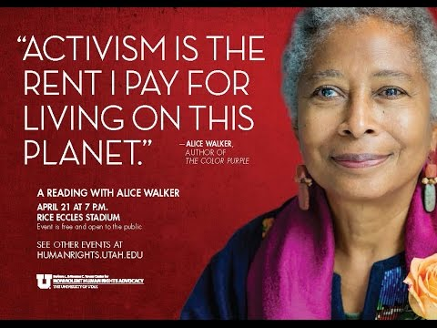 Alice Walker Reading with discussion