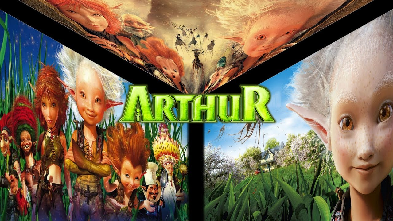 Arthur And The Invisibles 1 2 3 Epic Custom Trailer Youtube
