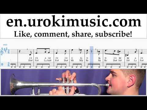 Trumpet lessons Harry Potter - Hedwig's Theme Sheet Music Tutorial um-i352