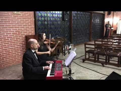 Entrada da noiva Marcha nupcial Violinarte Igreja Santa Luzia e São Nicolau violino e piano