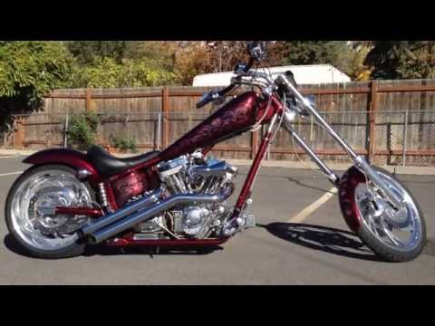 2004 American Ironhorse Texas Chopper Softail Motorcycle