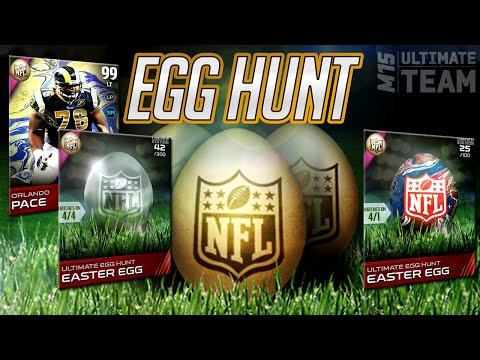 MUT 15 EASTER EGG HUNT CONTINUES! 99 Easter Orlando Pace & Andre Reed in Madden 15 Ultimate Team