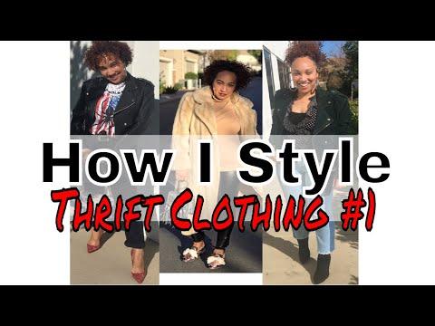 How I Style Thrift Clothing | Mini LookBook