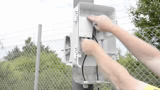 Установка IP-камер видеонаблюдения AXIS серии P33 c AXIS T98A17 на столб(, 2013-10-31T06:31:11.000Z)