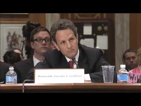 COP Hearing with Treasury Secretary Timothy Geithner