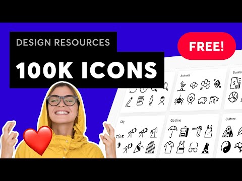 BEST FREE ICONS! Resources For Designers -- UI/UX