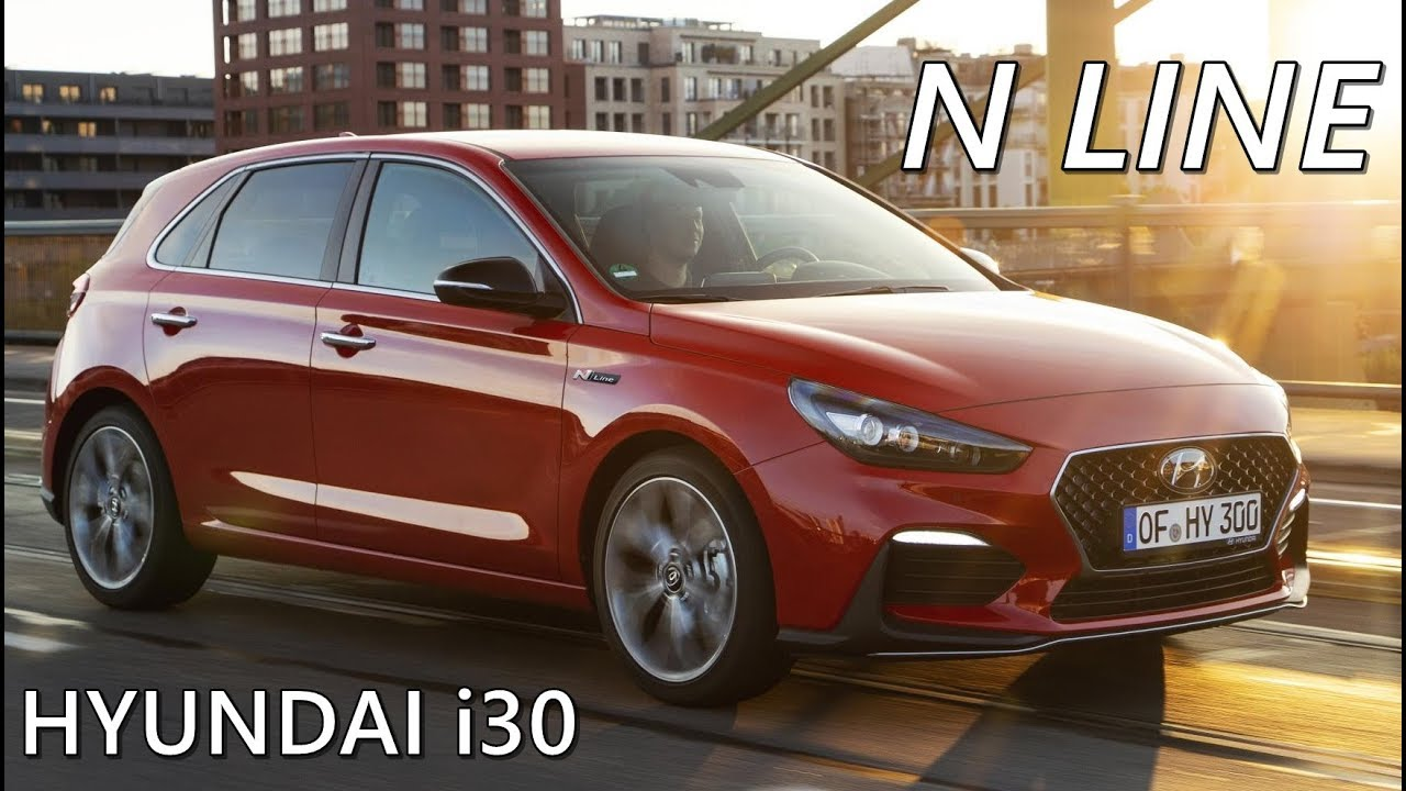 Hyundai I30 N Line 2019 Driving Exterior Interior Youtube