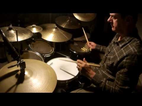 Vince Guaraldi Trio - Oh Tannenbaum - drum cover by Steve Tocco