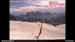 Brixen - Skirama Eisacktal Brixen webcam time lapse 2010-2011