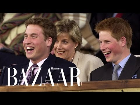 Prince Harry & Prince WIlliam's Cutest Brother Moments | Harper's BAZAAR