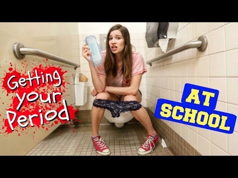 GETTING YOUR PERIOD AT SCHOOL | Hacks!!!