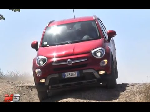 new fiat 500x 2 0 mjet 140 cv at9 4x4 cross 2015 first off road test drive only sound youtube. Black Bedroom Furniture Sets. Home Design Ideas