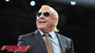 WWE Hall of Famer Ric Flair kicks off Old School Raw: Raw, Jan. 6, 2014 thumbnail