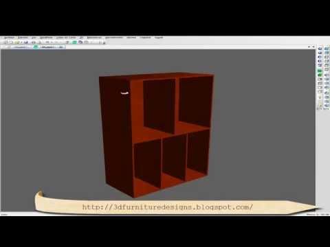 Spazio3d es el software cad cam para mobiliario doovi for Programa para disenar muebles en 3d