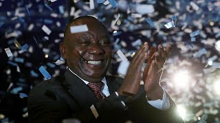 SOUTH AFRICA, ANC celebrates election victories