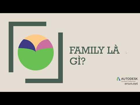 Family Revit | Bài 01: Family là gì?
